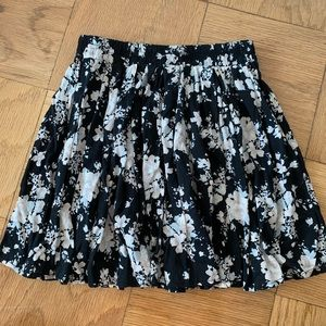 Brandy Melville Floral Skirt, one size